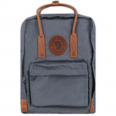 Рюкзак Fjallraven Kanken No.2 Laptop 15 серый 28х16х40см 18л (F23569-42)
